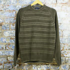 Quiksilver New Knitted Stripped Casual/Sport/Sweater/Jumper Brown UK size S