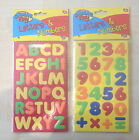 Magnetic Creative Play EVA  Foam Letters And Numbers Capital Letters UK SELLER