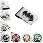 Buy 2 Get 1 Free Superhero Justice League The Avengers Women's Men's Money Clip
