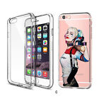 Suicide Squad Harley Quin Joker -  CLEAR TPU Case For Apple iPhone And Samsung