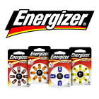 NEW Energizer Hearing Aid batteries for sizes: 10,  13,  312,  675 EZ Turn