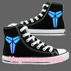 NEW! Fashion Bryant Casual Canvas Shoes Cartoon High Ankle sneakers