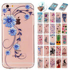 Cute Pattern Ultra-Slim Soft Silicone TPU Clear Case Cover For iPhone 6 7/7 Plus
