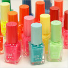 7ML Nail Art Polish Glow In Dark Fluorescent Neon Luminous Varnish Candy Colors