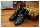 Men's Shoes Casual Sneakers Leather Slip On Driving Loafer Sport Running Canvas