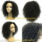 """12""""-20"""" Afro Curly 100% Brazilian Human Hair Lace Wig Full Lace/Lace Front Wig"""