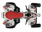Suzuki LTR 450 Quad ATV Graphic Decal Kit West Coast Demon Red New (no fend)