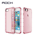 ROCK Shockproof Transparent Clear TPU Back Case Cover for iPhon7 iPhon 7 Plus