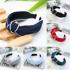 Korean Vintage Retro Women Wide Knotted Twisted Headband Hairband