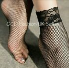Womens Soft Sexy Floral Fishnet Lace Top Short Ankle High Ladies Lace Socks