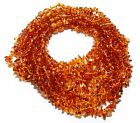 Lot of 10 Genuine Baltic Amber Chips Baby Teething Necklaces Honey Color