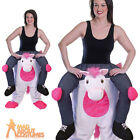Adult Piggyback Unicorn Costume Funny Animal Fancy Dress Outfit New