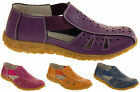 Womens COOLERS Leather Open Summer Sandals Ladies Comfort Shoes Sz Size 5