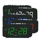AC110-240V Home Large Digital LED Display Wall Desk Table Alarm Clock 1.8 Inches
