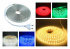 SMD3014 LUZ CINTA TIRA FLEXIBLE LED AC220V 60 LED/M IMPERMEABLE - COLOR A ELEGIR