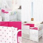 Reversible Bedding Sets for Cot / Cotbed Canopy Cot Tidy - Little Stars #17