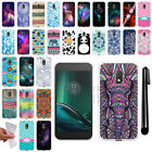 "For Motorola Moto G4 Play 5"" XT1607 XT1609 TPU Soft SILICONE Case Cover + Pen"
