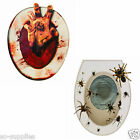 HALLOWEEN TOILET SEAT GRABBER SPIDER COVER SCARY FANCY DRESS PARTY DECORATION