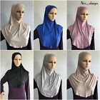 Muslim Women ** COTTON JERSEY** 2 Piece Al Amira Hijab (USA Seller) 16 colors