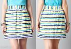 NWT Ann Taylor LOFT Cotton Stripe Skirt