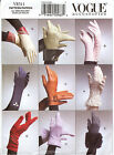 Vogue 8311 Gloves Sewing Pattern Retro Vintage Style Mod 50s 60s Driving V8311