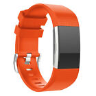 New 2016 Adjustable Sport Silicone Bracelet Strap Watch Band For Fitbit Charge 2