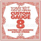 Ernie Ball Slinky Guitar Strings - SINGLE STRING PACKS - All Gauges  .008 - .062 for sale