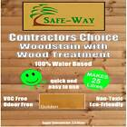 CONTRACTORS CHOICE EXTERIOR WOOD STAIN + WOOD TREATMENT 25 LITRES TRADE STAIN