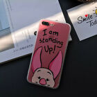 Cute Cartoon Disney Hybird Matte Clear Case Cover for iPhone SE/6/6S/7/7 Plus