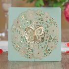Blue Unique Wedding Invitations Card Kit, Free Shipping,Personilzed Printing