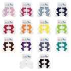 2 PAIRS Sock Ons Sock Keepers Size 0-6 Months - Choose Your Own 2 Colours