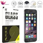 "New Retail Box 9H+ Tempered Glass Screen Protector for iPhone 7 4.7"" 5 5s 6 Lot"