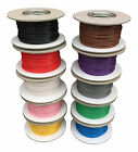AUTOMOTIVE THINWALL ELECTRICAL AUTO CABLE WIRE ALL LENGTHS/COLOURS 12v MARINE