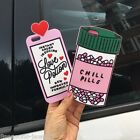 Hot 3D Love Potion Pills To Calm Skin Phone Case Cover For IPhone 5 5S 6 6S Plus
