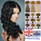 18''-22'' 0.5g/s Pre-bonded Nail U Glue Tip 100% Remy Human Hair Extensions UK