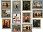 Jack Vettriano FRAMED Small Canvas Effect Prints 30 Designs Choose