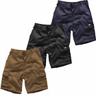 DICKIES Mens REDHAWK Summer Work SHORTS Action Wear Cargo Combat Sizes 30-42