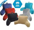 Micro Mink Plush Bedrest Pillow Lounger Cushion Support Backrest Travel TV Rest