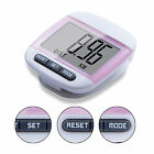 LCD Digital Walking Pedometer Step Distance Calorie Counter Fitness Belt Clip