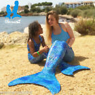 Mermaid Tail with Monofin and Top 3pc by Uramermaid Swim effortlessly Fun Gift