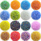 Ne 1200pcs Lots 2mm Glass Beads Seed Pearls Round Spacer For Jewelry Making DIY