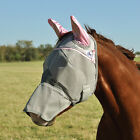 CASHEL STANDARD FLY MASK LONG COVERS NOSE WITH EARS Size Sun Protection Horse фото