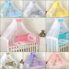 Luxury Cotbed Cot Bed Canopy Drape Big 480cm + Holder to choose/ Freestanding