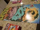 Juarssic Park III 3 Board Game Relacement Parts/Pieces *Game Board*
