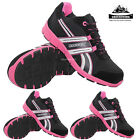 LADIES GROUNDWORK LIGHTWEIGHT STEEL TOE CAP SAFETY TRAINERS WOMENS WORK SHOES