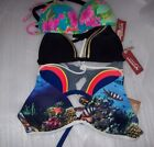 WOMEN'S ARIZONA BIKINI PUSH UP TOPS, MULTIPLE COLORS NEW WITH TAGS NEW WITH TAGS