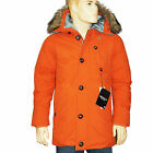 G-STAR RAW Parka MOUNTAIN HOODED DOWN doudoune orange taille XL homme