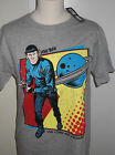 NEW MENS STAR TREK SPOCK T SHIRT GREY SIZE MEDIUM LARGE EXTRA LARGE M L XL on eBay