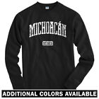 Michoacan Mexico Long Sleeve T-shirt - LS Men S-4X Gift Morelia Uruapan Monarcas