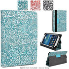 Universal 7 - 8 inch Tablet Paisley Protective Folio Case Cover and Stand